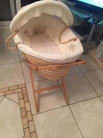 Once upon a time Moses basket and stand