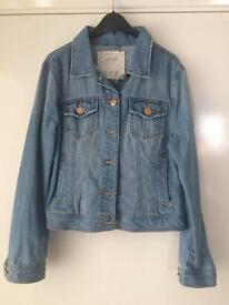 Ladies denim jacket size 14
