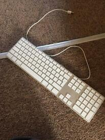 Apple keyboard with wire, vgc