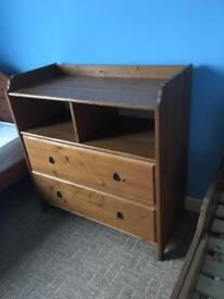 Ikea Wooden Chest of Drawers Cabinet
