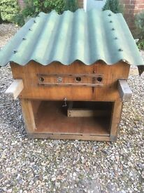 Chicken/Rabbit House with Attached Run
