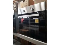 UBESO601SS 60cm Glass & Stainless Steel Electric Oven