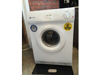 White knight 6kg tumble dryer with stickers can deliver for a small charge