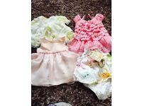 Girls dresses( birth to 3months)