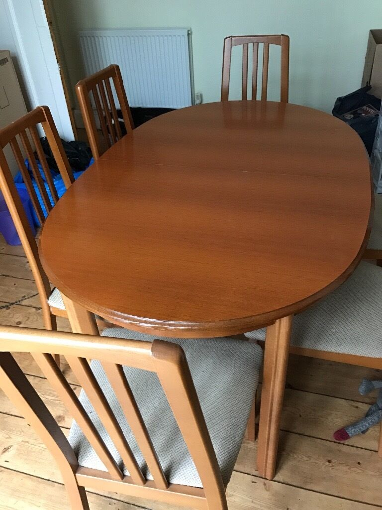 Dining room table and six chairs | in Plymouth, Devon ...
