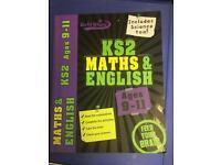KS2 Maths & English book