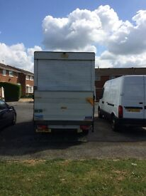 Mercedes 3.5T van with tail lift