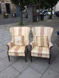 2matching parker knoll armchairs