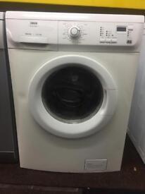 Zanussi white good looking 6kg 1200spin washing machine