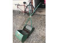 Vintage Webb push cylinder mower fully working