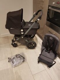 Bugaboo Cameleon Cam 3 - Black/ Grey IMMACULATE CONDITION. *ONE OFF COMBINATION!*