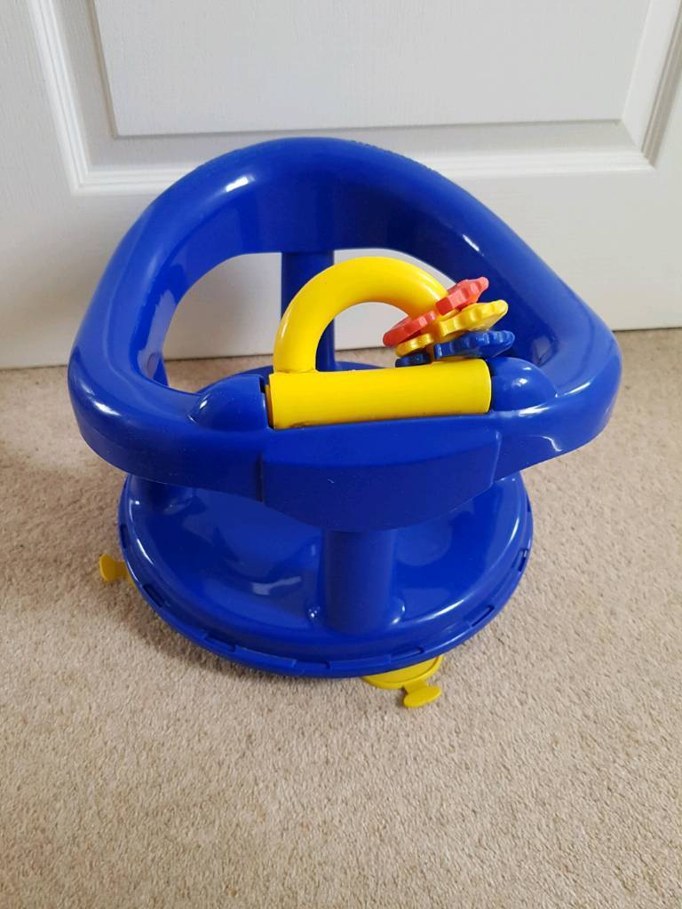 Baby bath seat in blue with suction pads   in Heywood, Manchester ...
