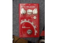TC-helicon Mic Mecanic Voice effects pedal