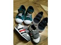3x boys shoes size 4 UK infant