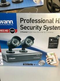 Swann cctv kit with 2 extra cameras