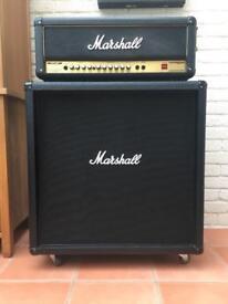 MARSHALL AVT50 & CAB GUITAR AMP MINT CONDITION