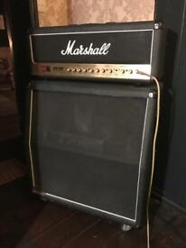 Marshall dsl 50 valve head and cab