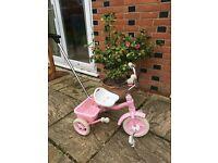 Girls Pink Trike