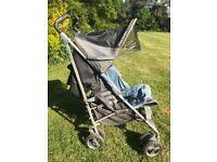 Maclaren Techno XT buggy/ stroller with raincover
