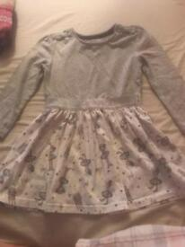 Girls Christmas dress, 18-24 months