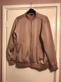 Topshop Bomber Style Jacket Size 10
