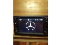 Mercedes Universal Built-In Bluetooth Full European Map Gps Car Dvd/Gps/Full Hd Screen