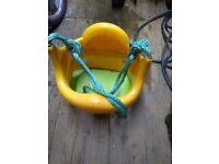 Swing seat barley used