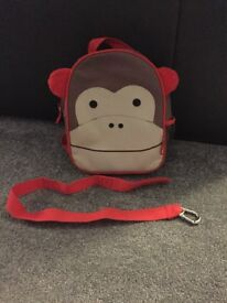 Skip Hop monkey bag