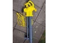 Leaf blower Garden vac