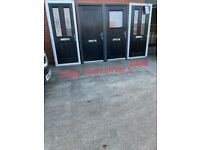 Upvc composite doors £250 each and ideal for wheel chair access