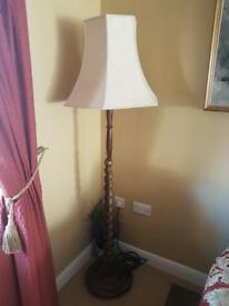 Stunning tall free standing lamp