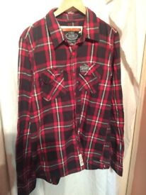 SUPERDRY AS NEW SIZE XXL WITH ZIP ONLY 15!!!!