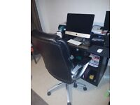 Desk with free chair