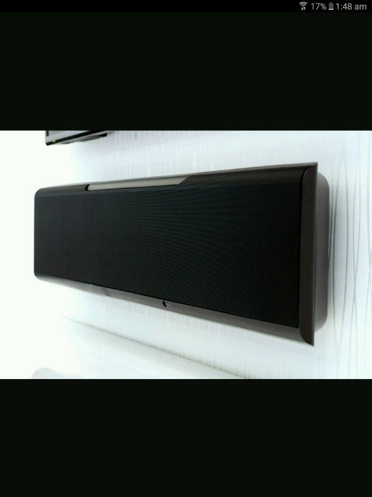 yamaha ysp 5600 sw sound projector soundbar in. Black Bedroom Furniture Sets. Home Design Ideas