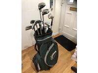 Callaway golf club set left handed