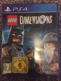 Lego Dimensions PS4 (Game Only)