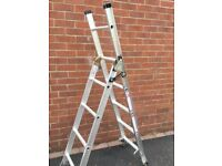 3 Way Domestic Combination Ladder, as new