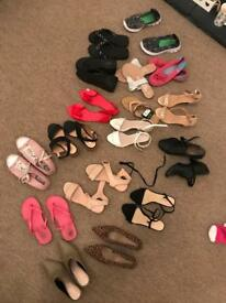 Ladies shoe bundle size 3