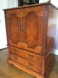 Traditional television cabinet