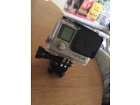 GoPro Hero 4 Silver + Card and Accessories - ALMOST NEW