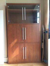 Cabinet Wood & Glass