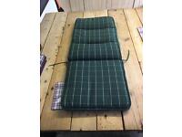 Garden chair full cushions x 6
