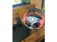 Ps3/pc steering wheel
