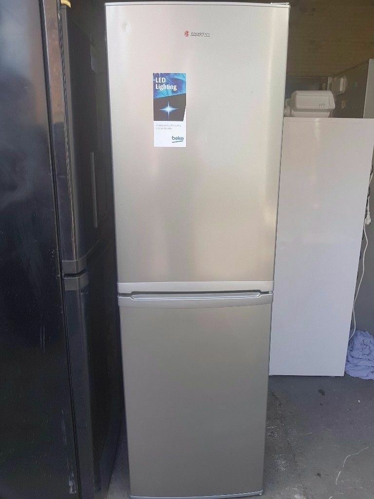Stainless Steel Hoover Fridge freezer (frost free)
