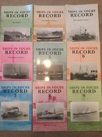 Ships in Focus - Volumes 1 to 57.