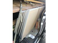plaster boards