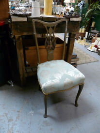 Edwardian Style Chair - nice upcycle project