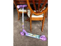 Tinkerbell 2 wheel scooter