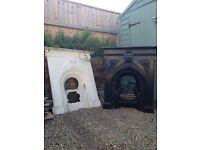 Fireplace x2 (Cast Iron)