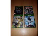 Xbox One Games x4..